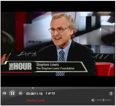 Stephen Lewis on The Hour